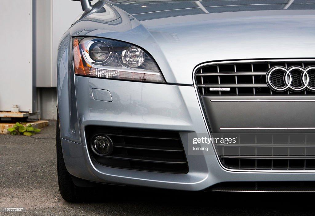 Audi TT at Car Dealership : Stock Photo