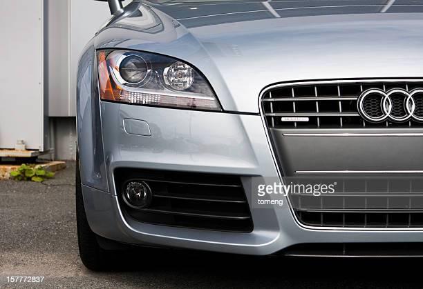 Audi TT at Car Dealership