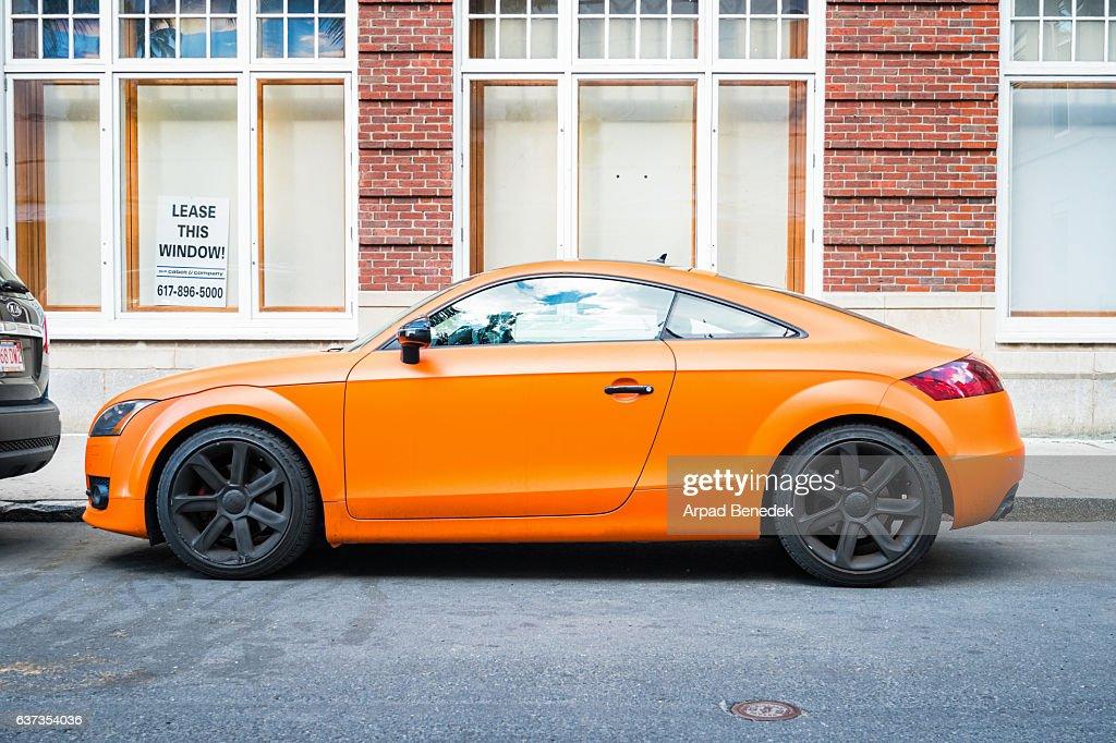 Audi TT Side View : Stock Photo