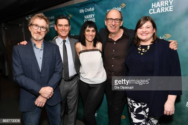 Audible founder and CEO Donald Katz, actor Billy Crudup, director Leigh Silverman, playwright David Cale, and Audible Theater Artistic Director Kate...