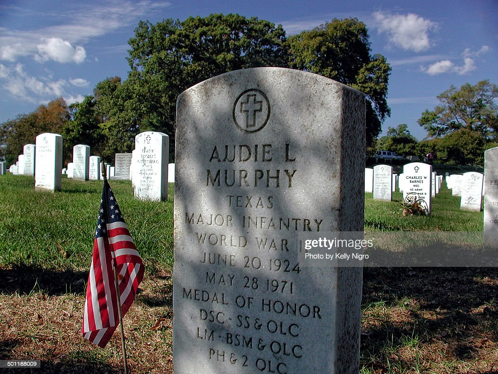 audie murphy grave stock photo getty images