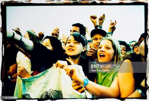Audience at Bon Jovi Enschede 6th September 1996