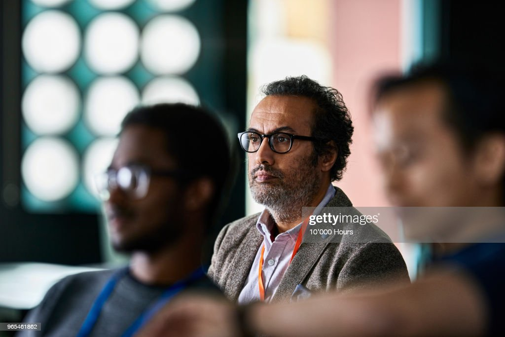 Audience at conference : Stock Photo