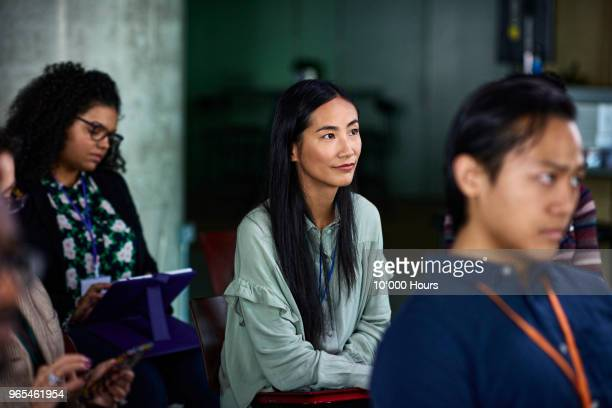 audience at conference - candid stock pictures, royalty-free photos & images
