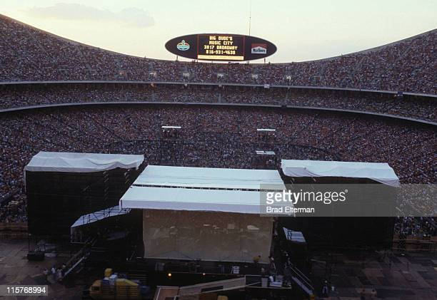 Audience at Day On The Green concert featuring Eagles at Oakland Coliseum on May 28 1977 in Oakland California