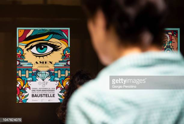 Audience attend the live performance of Italian band Baustelle during the event called 'Baustelle La fine dell'amore la fine della violenza Amen...