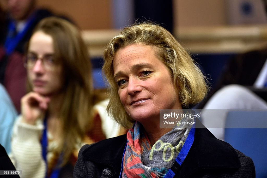 Delphine Boël to Constitutional court : News Photo