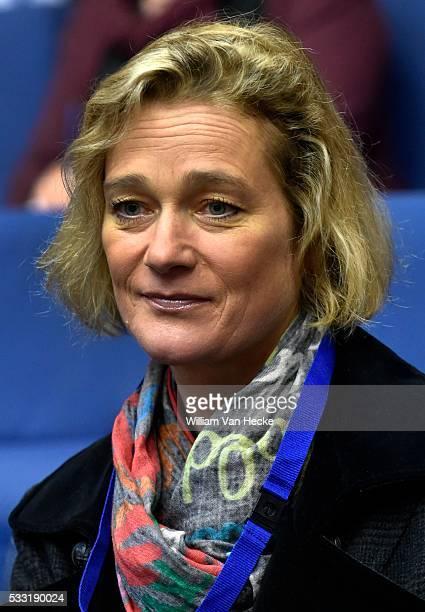 Audience de la Cour constitutionnelle dans le cadre de l'affaire Delphine Boël Le tribunal de première instance de Bruxelles pose deux questions...