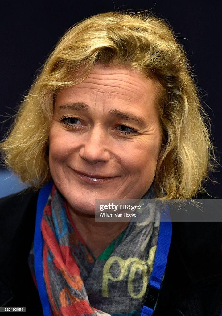 Delphine Boël to Constitutional court : News Photo