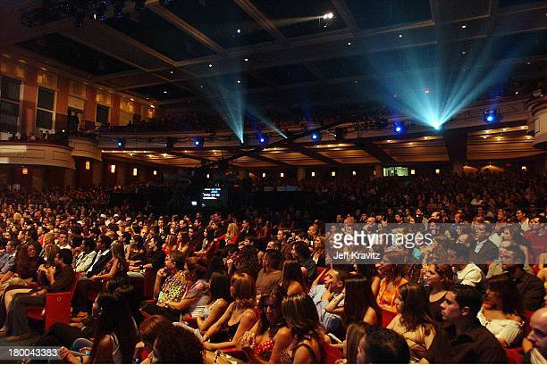 Audience during MTV Video Music Awards Latinoamerica 2002 Show at Jackie Gleason Theater in Miami FL United States