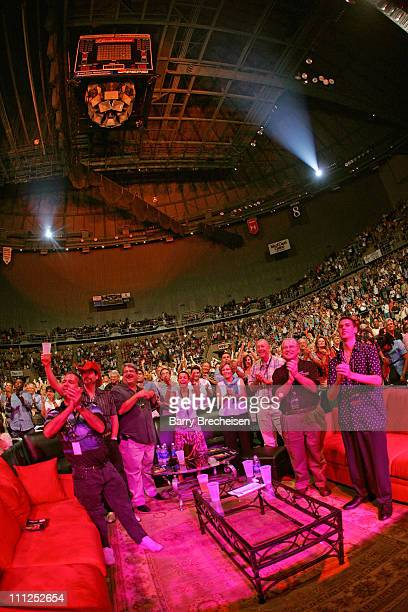 Audience during The Isle of Capri BB King 80th Birthday Benefit Concert at Mississippi Gulf Coast Coliseum in Biloxi Mississippi United States