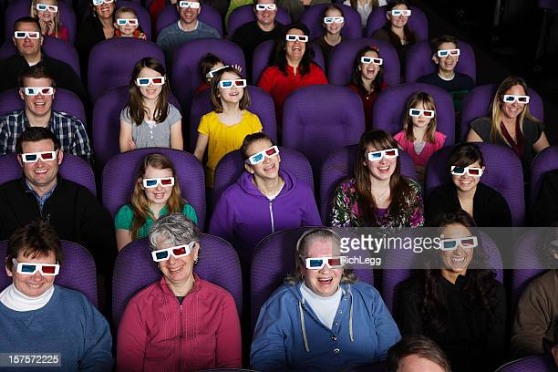 Audience in a 3D Movie