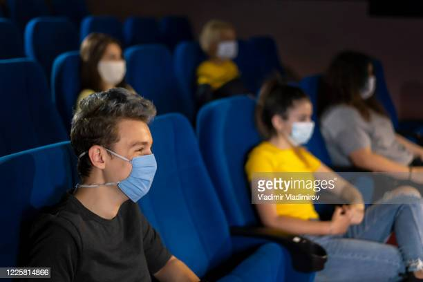 audience in cinema - opening event stock pictures, royalty-free photos & images