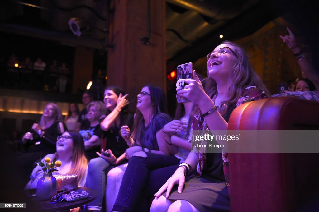 Audience members are seen during A Songwriters Round Benefiting City Of Hope at Analog at the Hutton Hotel on May 16, 2018 in Nashville, Tennessee.