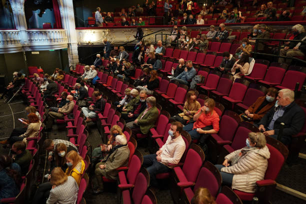GBR: York Theatre Re-opens To The Public As Phase Three Of Lockdown Easing Begins