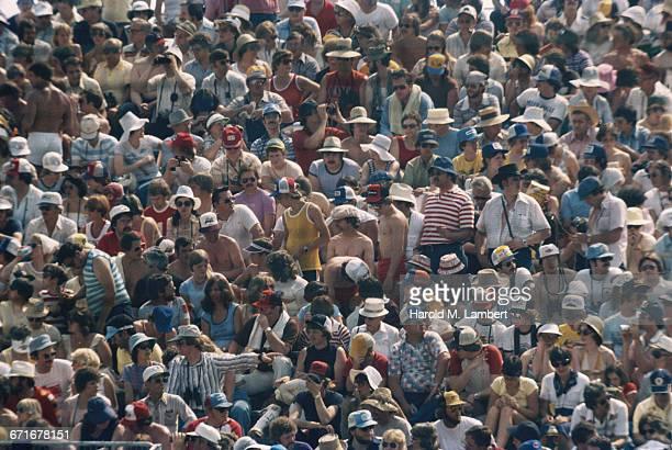 Audience Watching Sport At Stadium