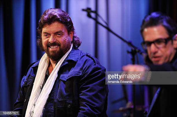 Audio engineer and musician Alan Parsons and GRAMMY Foundation and MusiCares Vice President Scott Goldman participate in 'An Evening With Alan...