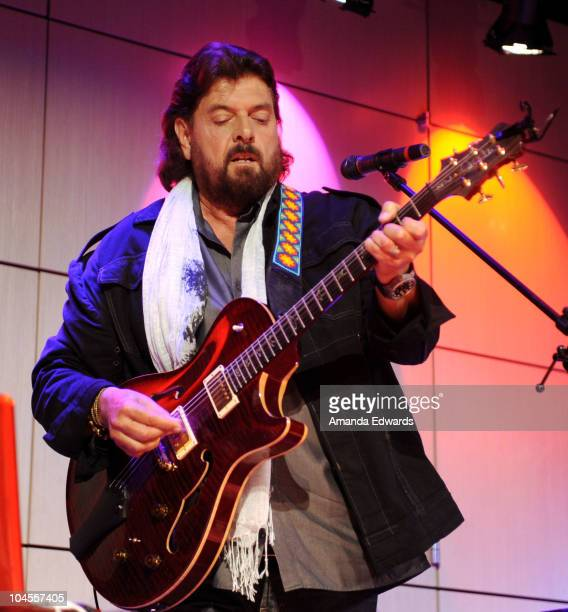 Audio engineer and musician Alan Parsons performs onstage during 'An Evening With Alan Parsons' at the GRAMMY Museum on September 29 2010 in Los...