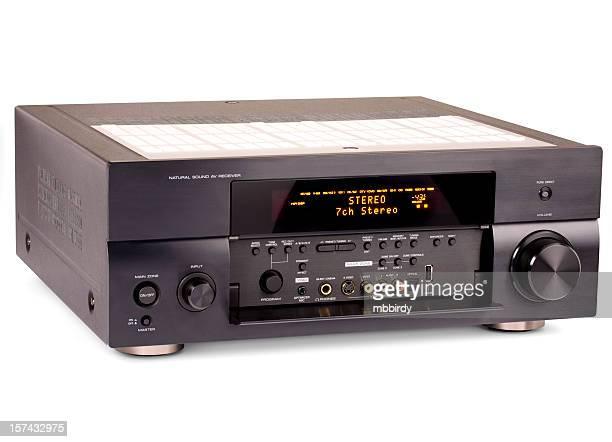 Receptor de Audio y vídeo (clipping path (Borde de corte