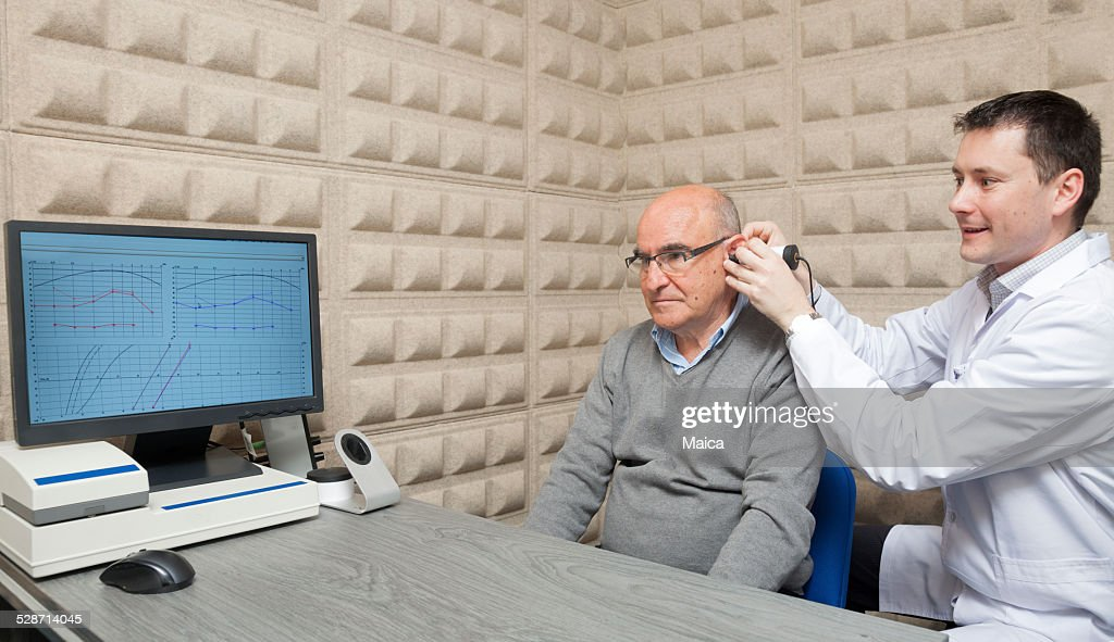 Audiologist : Stock Photo