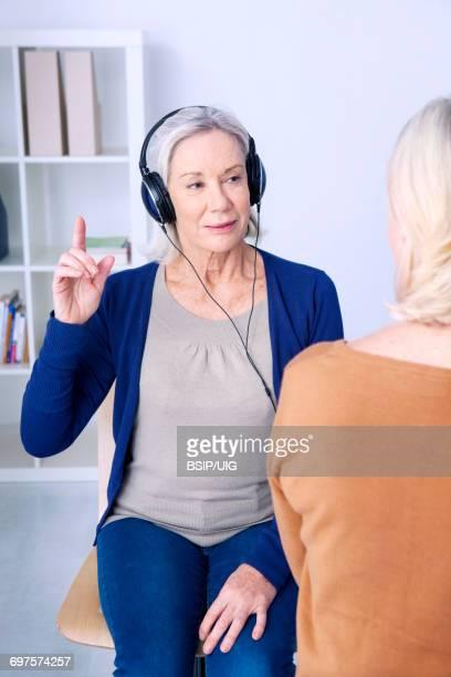 Audiometry, elderly person