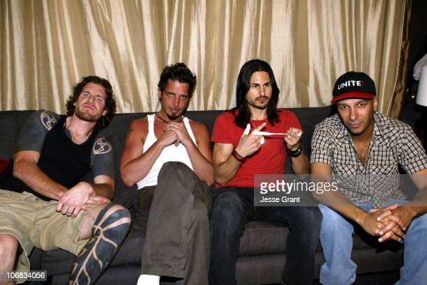 Audioslave on the 'Jimmy Kimmel Live' show on ABC Photo by Jesse Grant/WireImagecom/ABC