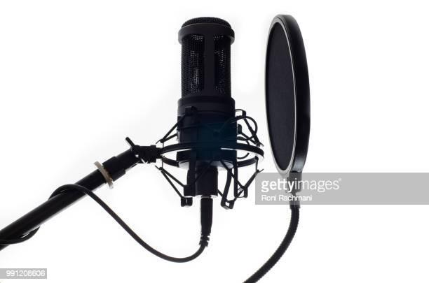 audio-technica at2020 - micrófono fotografías e imágenes de stock