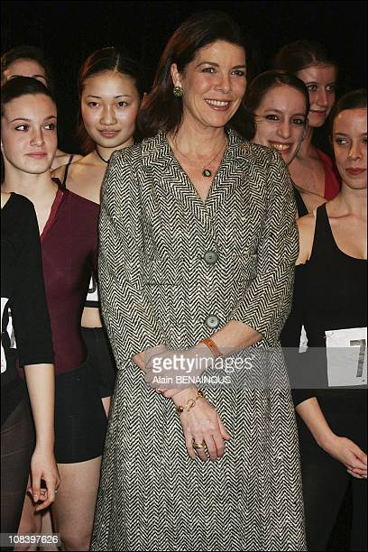 Audition of young dancers in Monaco on December 15 2004