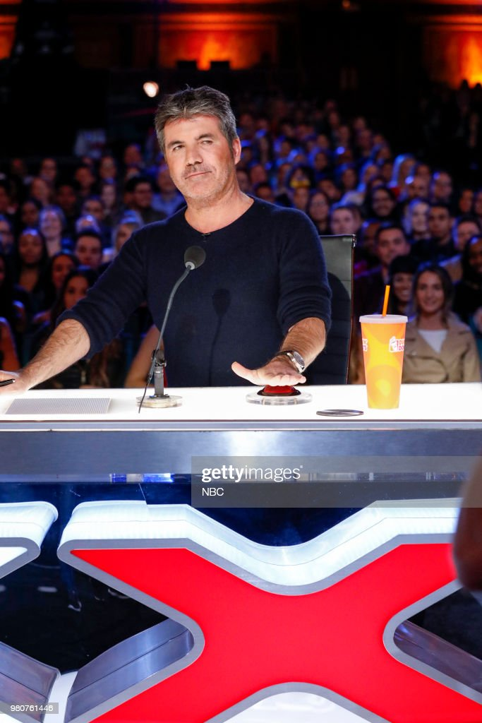 S GOT TALENT -- 'Auditions 1' Episode 1301 -- Pictured: Simon Cowell --