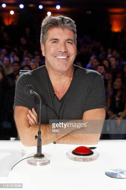 S GOT TALENT Auditions 5 Episode 1405 Pictured Simon Cowell