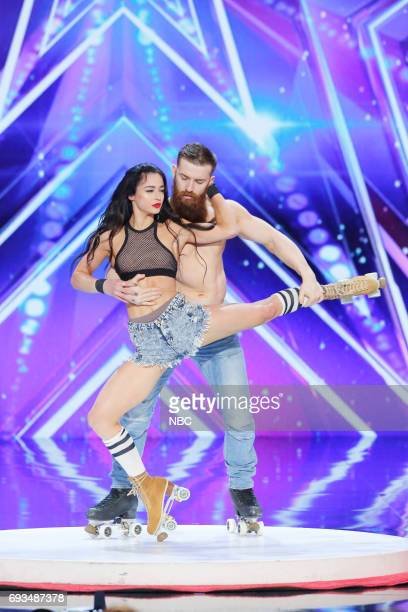 S GOT TALENT Auditions Episode 1202 Pictured Emily England Billy England