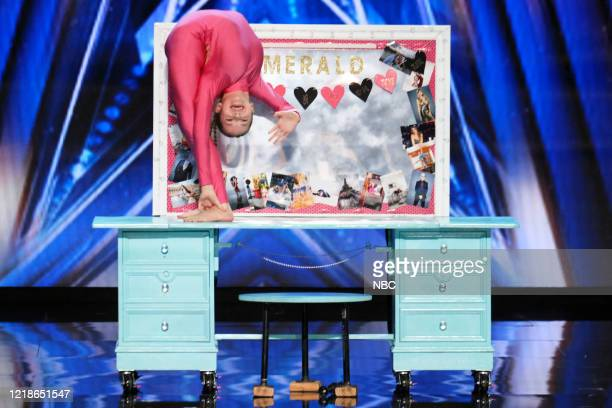 S GOT TALENT Auditions Episode 1503 Pictured Emerald Wolf