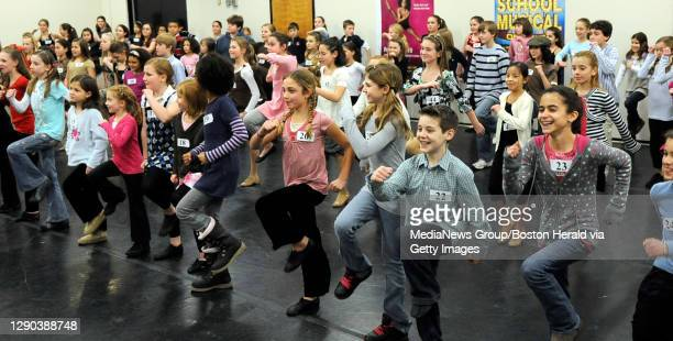 Auditions for Chitty Chitty Bang Bang at the Citi Performing Arts Center Wang Theatre. Clsoe to 100 budding dancers and singers ages 8-12 tried out...