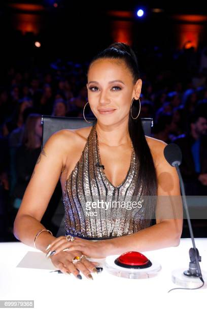 S GOT TALENT Auditions Pasadena Civic Auditorium Pictured Mel B
