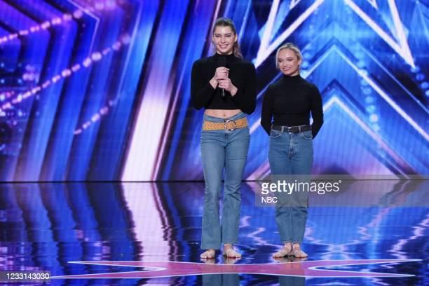 """Auditions"""" -- Pictured: Ellariya and Karina --"""