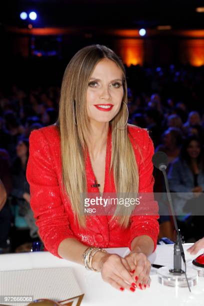 S GOT TALENT 'Auditions' Pictured Heidi Klum