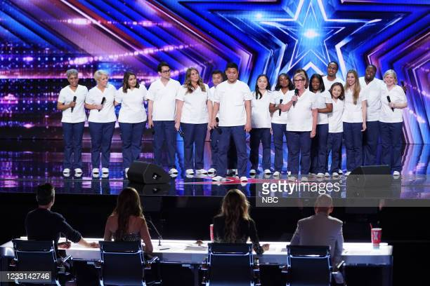 """Auditions"""" -- Pictured: Northwell Nurse Choir --"""
