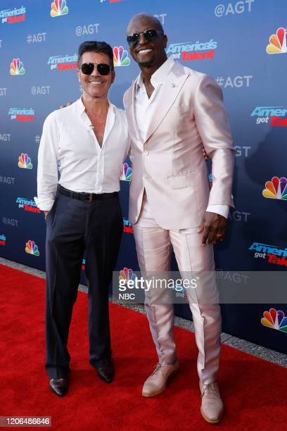 S GOT TALENT Auditions Pictured Simon Cowell Terry Crews