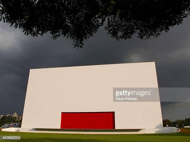 Auditorio Ibirapuera designed by Brazilian architect Oscar Niemeyer