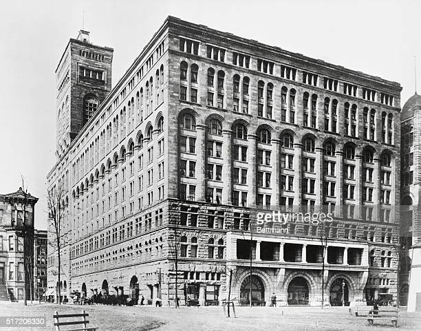 Auditorium Hotel in Chicago Architect Louis Sullivan Perhaps Chicago's finest and greatest monument at NW corner of Michigan Ave and Congress St Now...
