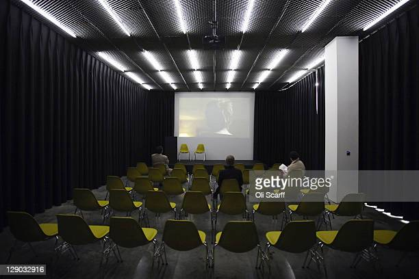 A auditorium in the new White Cube gallery in Bermondsey on October 11 2011 in London England The third White Cube gallery which will officially open...