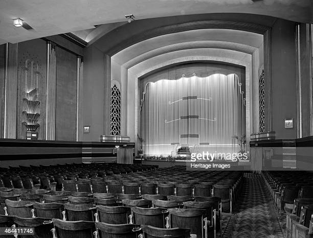 Auditorium of the Odeon Kingston upon Thames London c1933 designed by Colonel James E Adamson and Marshall and Tweedy Opened in 1933 its fittings are...