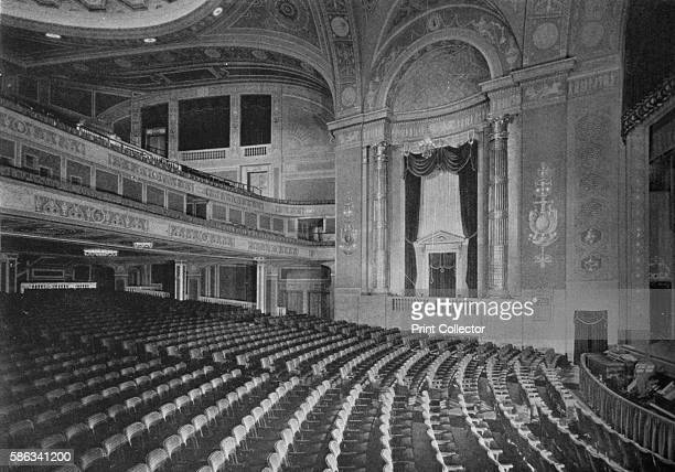Auditorium of the Premier Theatre Brooklyn New York 1925 Designed by Charles Sandblom the Premier Theatre was a cinema built in 1921 The building was...