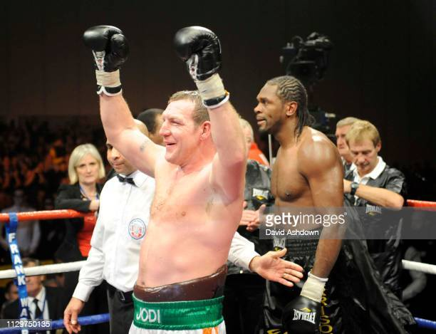 Audley Harrision is defeated by Martin Rogan Boxing at Excel London 6th December 2008