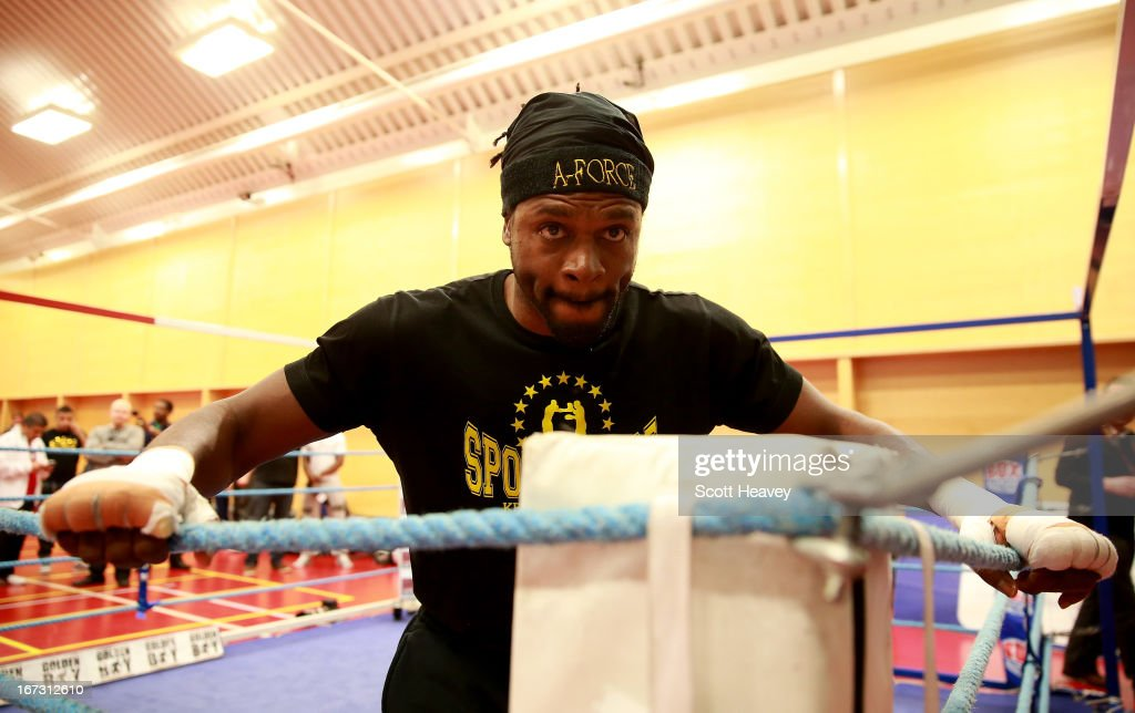 Boxing Media Workouts : News Photo