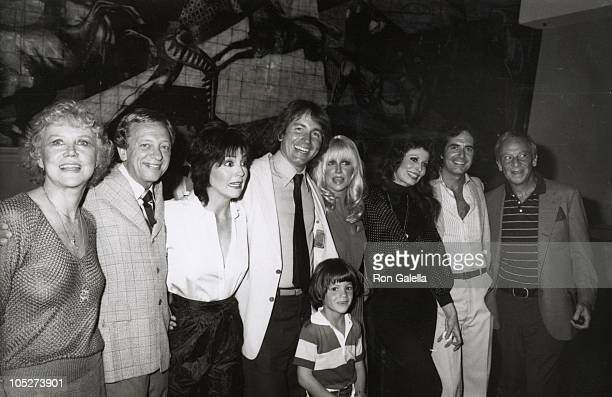 Audra Linley Don Knotts Joyce DeWitt John Ritter Suzanne Somers Richard Kline Evan Cohen and Norman Fell