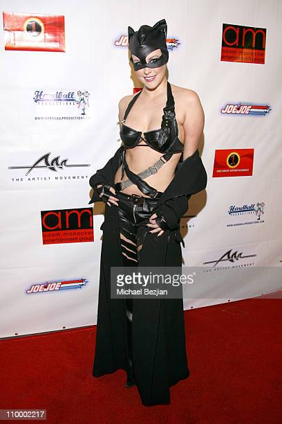 Audra Lynn during Dave Navarro's Halloween Lingerie and Costume Ball at The Highlands in Hollywood Califonia United States