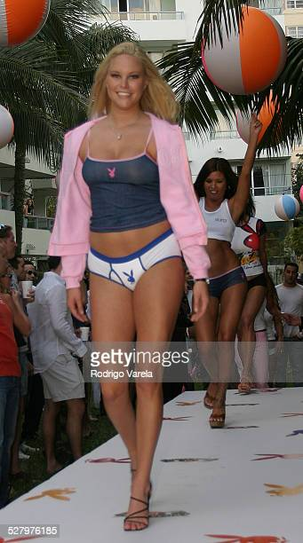 Audra Lynn during Playboy Pool Party in Miami Beach at Sagamore Hotel in Miami Beach Florida United States