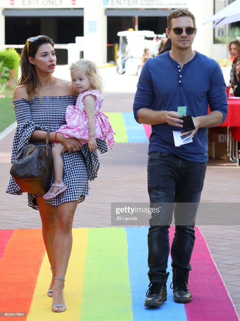 Audra Lynn Handley and Taylor Handley attend Step 2 Presents 6th Annual Celebrity Red CARpet Safety Awareness Event on September 23, 2017 in Culver City, California.