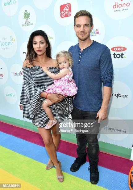 Audra Lynn Handley Taylor Handley and family at Step 2 Presents 6th Annual Celebrity Red CARpet Safety Awareness Event on September 23 2017 in Culver...